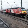 43314_43308 0826/1Y03 Newcastle-Kings Cross arrives Peterborough.