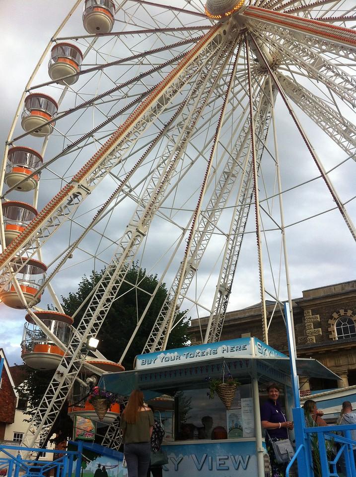 Wheel ride at Salisbury