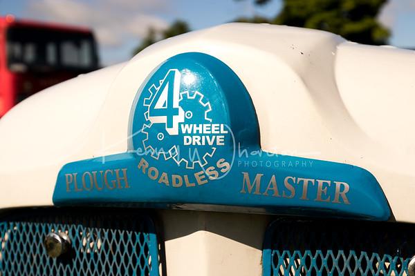 Ploughmaster badge - Kieran Wall