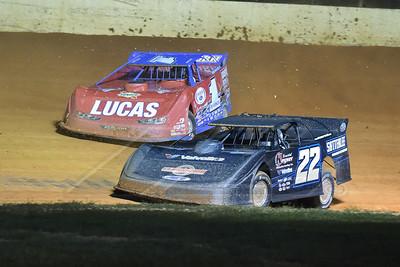 Gregg Satterlee (22) and Earl Pearson, Jr. (1)
