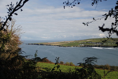 Cardigan Bay - view to Gwer