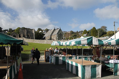 Farmers Market at St. Dogmael's Abbey