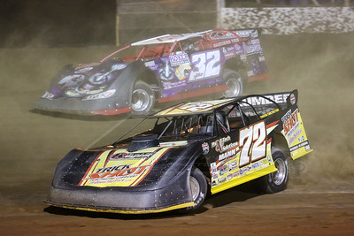 Jason Covert (72) and Bobby Pierce (32)