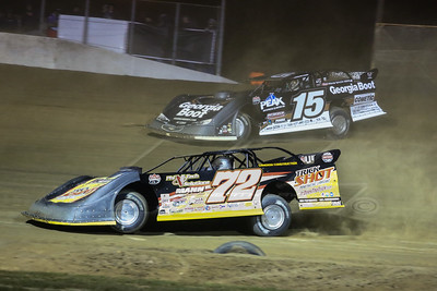 Jason Covert (72) and Darrell Lanigan (15)