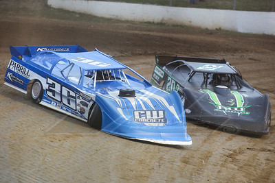 Craig Wolford (36) and Jimmy Owens (20)