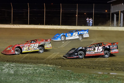 Tim McCreadie (39), Steve Francis (15) and Tim McCreadie (39)