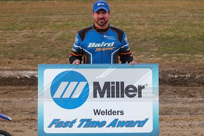 Miller Welders Fast Time Award winner Jonathan Davenport