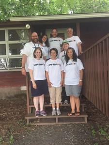 Rabbi Gibson at Camp Harlam & EKC