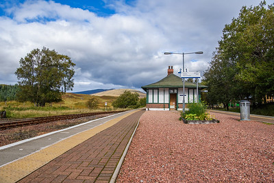 Rannoch Station - 01/10/2016
