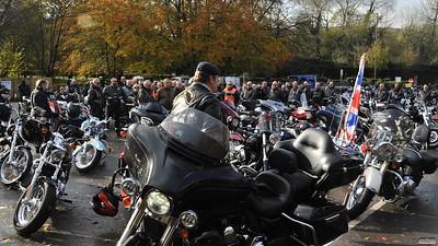 Remembrance Ride - Rykas, 13 Nov 2016