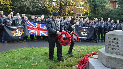 Remembrance Ride - Shamley Green, 13 Nov 2016