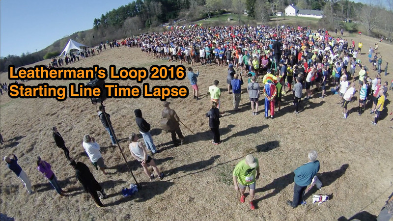 Starting Line Time Lapse