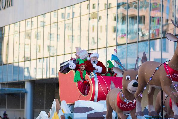 Rogers Santa Parade