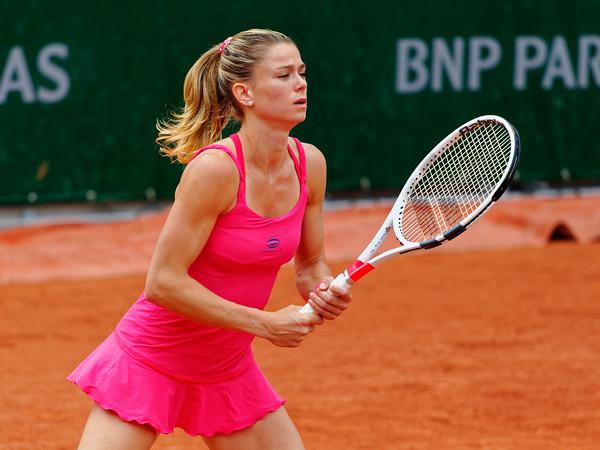 05 Camila Giorgi - Roland Garros 2016