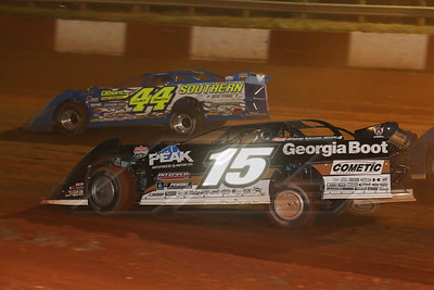 Darrell Lanigan (15) and Clint Smith (44)