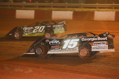 Darrell Lanigan (15) and Jimmy Owens (20)