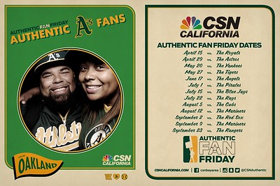 SF 2016-07-01 A's Fan Friday