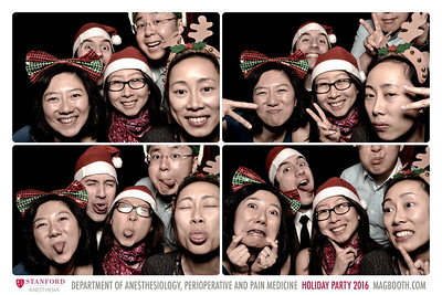 SF 2016-12-10 Stanford Dept. of Anesthesia Holiday Party