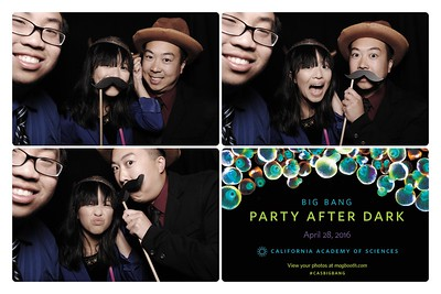 SF 2016-04-28 Big Bang Party After Dark 2016 - Booth 1
