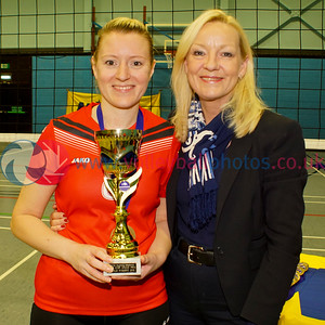 Women's John Syer Grand Prix Finals, Dundee University Institute of Sport and Exercise, Sun 14th Feb 2016. Edinburgh Jets 1 v 3 Su Ragazzi (23-25, 25-22, 16-25, 23-25)