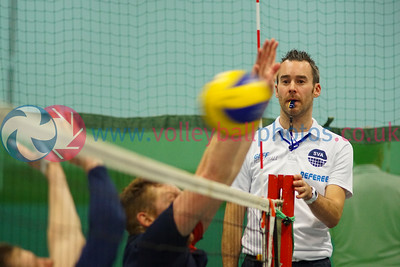 Men's John Syer Grand Prix Finals, Dundee University Institute of Sport and Exercise, Sun 14th Feb 2016. CoG Ragazzi 2 v 3 CoE (25-16,21-25, 25-21, 17-25, 11-15)