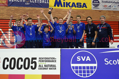 City of Edinburgh 2 v 0 Perth & Kinross (25-19, 25-17),  Boy's U16 Junior Super Cup Final, University of Edinburgh, Centre for Sport and Exercise, 16 April 2016.  © Lynne Marshall  http://www.volleyballphotos.co.uk/2016/SCO/JSVL/U16M-Super-Cup/