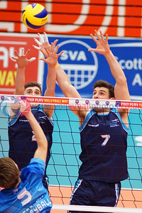 Scottish Student Men 3 v 0 Scotland U23 Men (16, 22, 22), International Student Challenge, University of Edinburgh Centre for Sport and Exercise, Fri 15 Apr 2016.  © Michael McConville    http://www.volleyballphotos.co.uk/2016/SCO/SSS/SSS-SCO-U23M