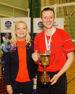 City of Glasgow Ragazzi 3 v 0 City of Edinburgh (25-18, 25-16, 25-14), SVL Premier Division, Coatbridge High School, Sun 1st May 2016.  © Michael McConville