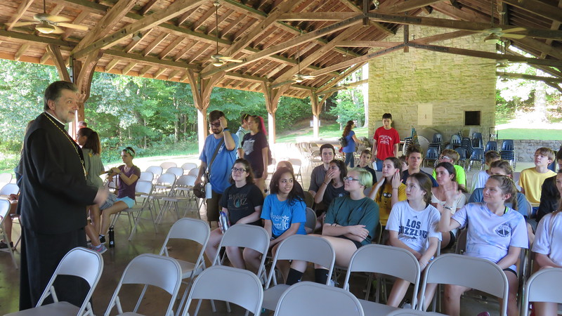 St. Nicholas Summer Camp Visit