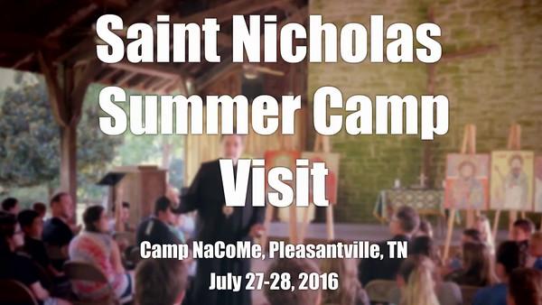 VIDEO: St. Nicholas Camp Visit