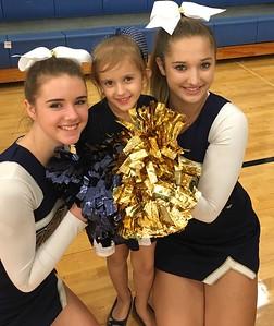 STA Cheer game 12/17