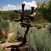 Santa Fe Botanical Garden, Bill Barrett sculpture.