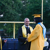 Superintendent of Schools Dr. Roberto Padilla hands Salutatorian Kaila Helm her diploma during Newburgh Free Academy's 151st Commencement Exercises for the graduating Class of 2016 on Academy Field in the City of Newburgh, NY on Thursday, June 23, 2016. Hudson Valley Press/CHUCK STEWART, JR.