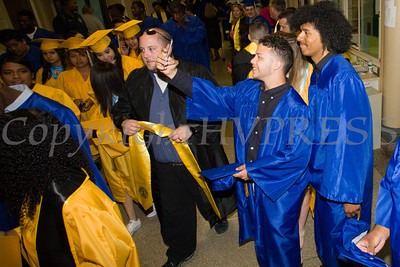 Newburgh Free Academy held its 151st Commencement Exercises for the graduating Class of 2016 on Academy Field in the City of Newburgh, NY on Thursday, June 23, 2016. Hudson Valley Press/CHUCK STEWART, JR.