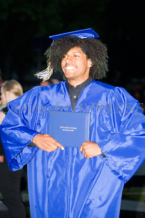 Newburgh Free Academy graduates received their diplomas during the 151st Commencement Exercises for the graduating Class of 2016 on Academy Field in the City of Newburgh, NY on Thursday, June 23, 2016. Hudson Valley Press/CHUCK STEWART, JR.
