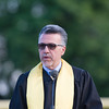 Matteo Doddo, Co-Principal, North Campus, offers remarks as Newburgh Free Academy held its 151st Commencement Exercises for the graduating Class of 2016 on Academy Field in the City of Newburgh, NY on Thursday, June 23, 2016. Hudson Valley Press/CHUCK STEWART, JR.