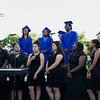 """Poughkeepsie High School Chorus featuring the seniors perform """"Break Every Chain"""" during the Poughkeepsie High School 144th Commencement Exercises for the graduating Class of 2016 on Friday, June 24, 2016 in Poughkeepsie, NY. Hudson Valley Press/CHUCK STEWART, JR."""