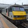 90044 stabled at Edinburgh Waverley.