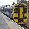 158869 at Tweedbank Station.