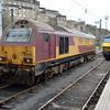 67021 & 90044 stabled at Edinburgh Waverley.
