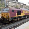 67021 stabled at Edinburgh Waverley.