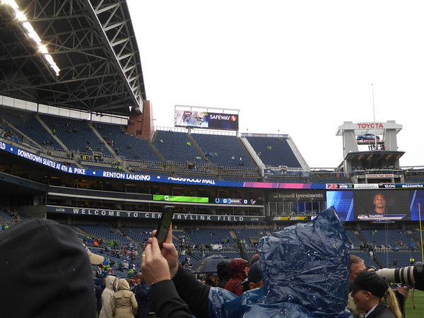 Seattle Sideline Experience 2016
