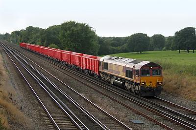 66164 Potbridge 23/09/16 6Z86 Southampton Up Yard to Dowlow