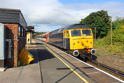 47812 Micheldever 17/09/16 5T42 Stewarts Lane to Eastleigh with 2412