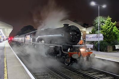 6201 Basingstoke 28/09/16 1Z69 Swanage to London Victoria
