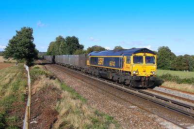 66742 Weston 25/09/16 4Y19 Mountfield to Southampton Western Docks
