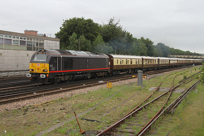 67005 Basingstoke 17/09/16 1Z56 London Victoria to Preston Park