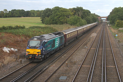 68016 Potbridge 16/09/16 on the rear of 1Z81 Winchester to Norwich