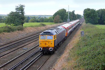 47812 Potbridge 23/09/16 5E42 Eastleigh to Ely Papworth Sidings with 2412 (should have gone to Hook for the sun !)