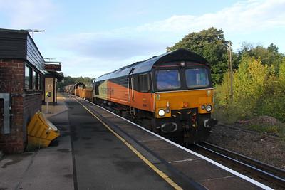 66848 Micheldever 26/09/16 6Y42 Hoo Junction to Eastleigh